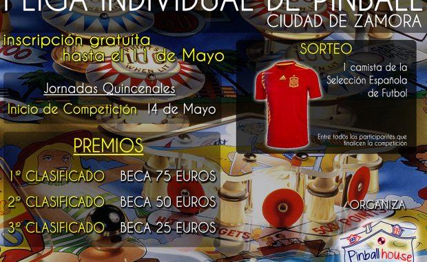 I LIGA INDIVIDUAL DE PINBALL (ZAMORA)