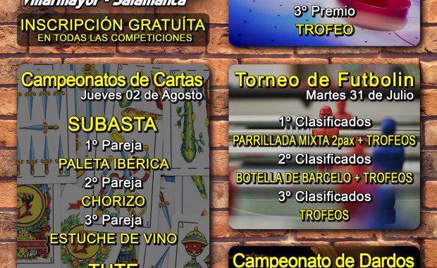 CAMPEONATOS FIESTAS 2018 EN VILLARMAYOR (SALAMANCA)