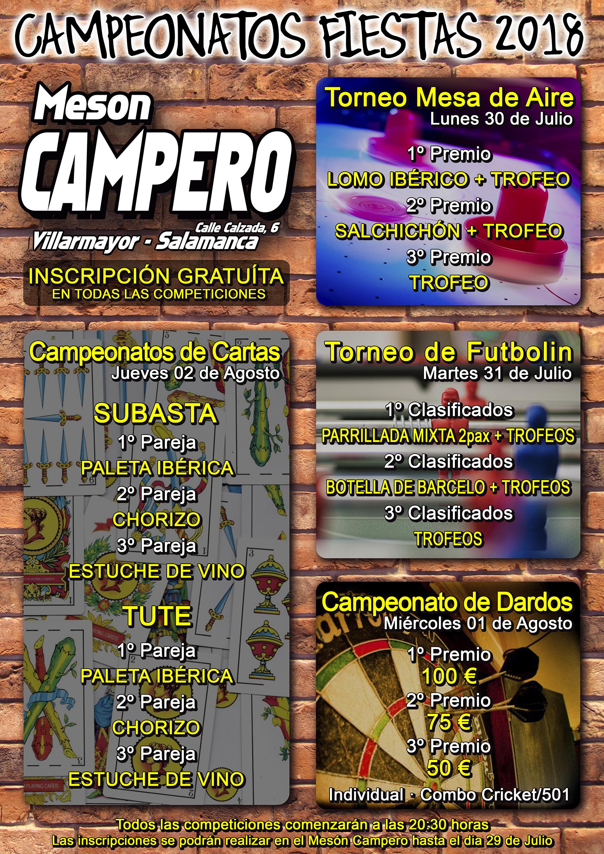 Campeonatos Mesón Campero