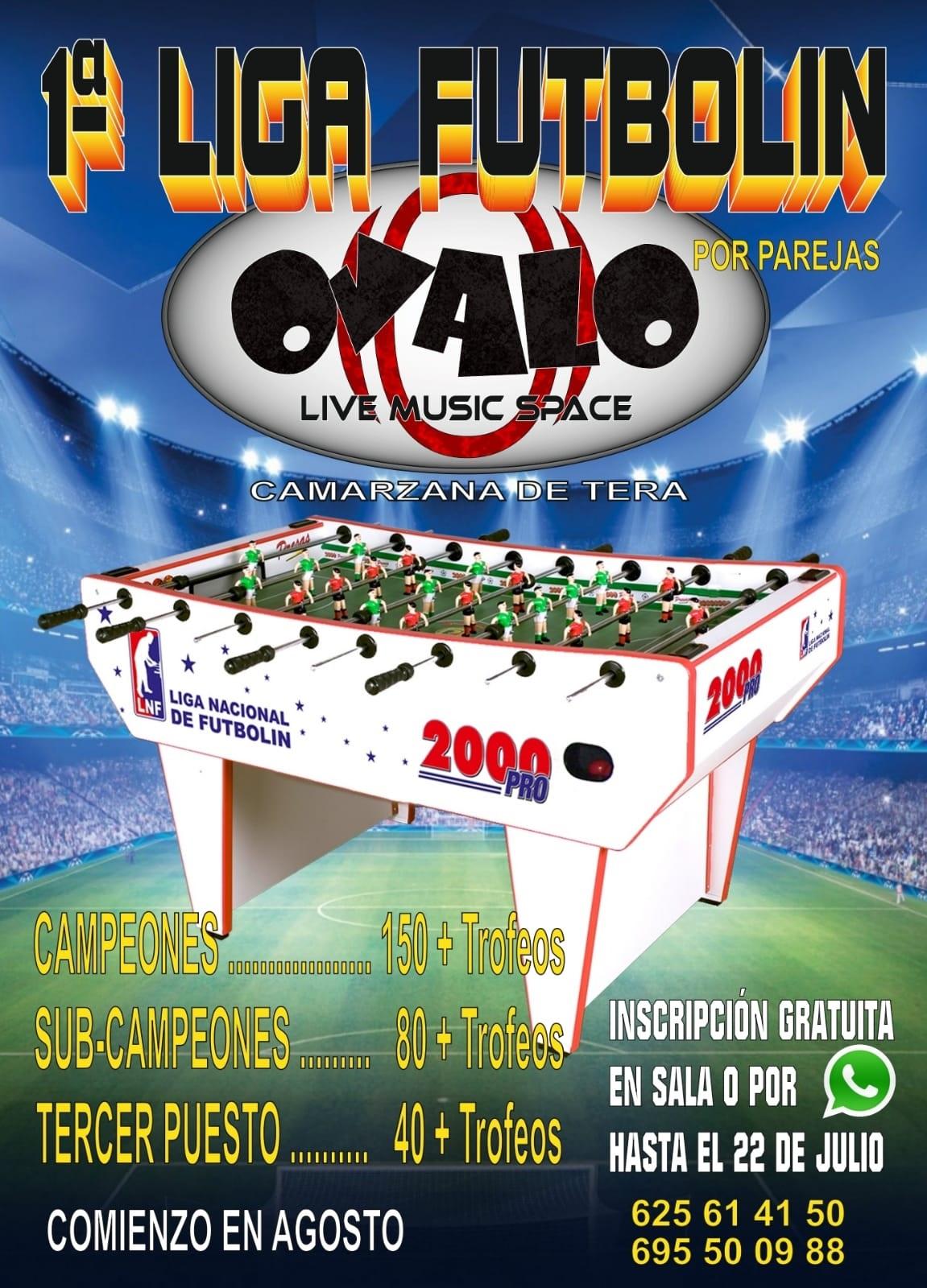 1º Liga Futbolín Ovalo