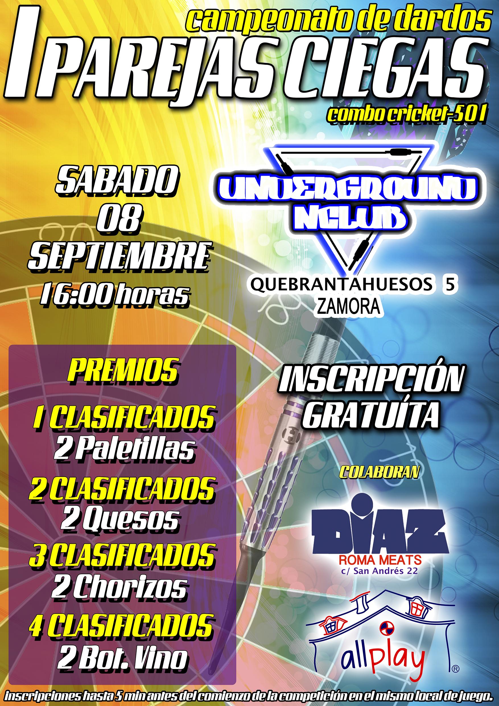 1 Campeonato parejas ciegas Underground