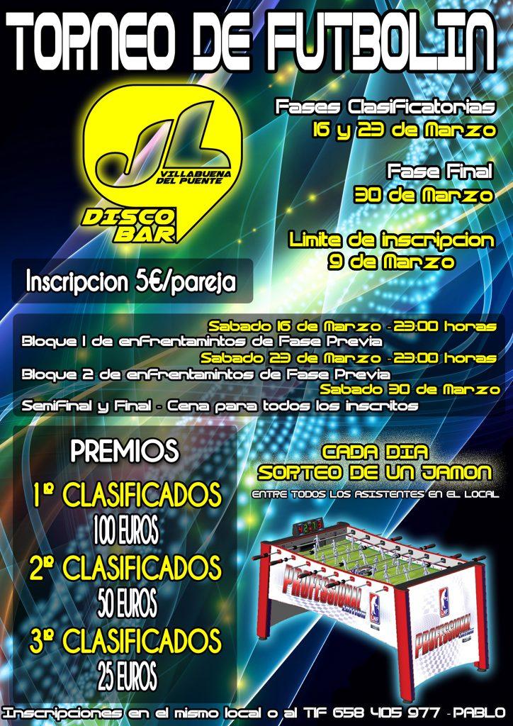 Torneo Futbolín J.L. (Villabuena del Campo, Zamora)